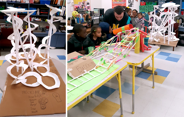 4th Grade Funnel Tunnel Wins After School Clubs Roller Coaster Design Contest